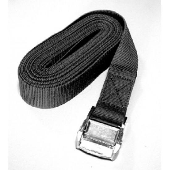 Tie Down Strap w/ self locking buckle, 2.5mx25mm, BL 250kg